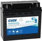 Exide AGM Ready 12-18 18Ah (250А 180*75*165)
