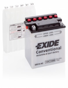 Exide Conventional 14 Ah (EB14-A2) (145А 134*89*166)